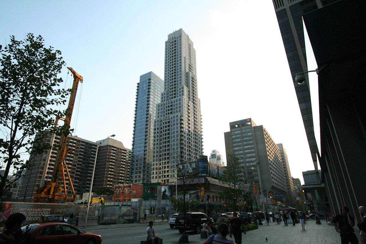 A photo of Yonge & Bloor
