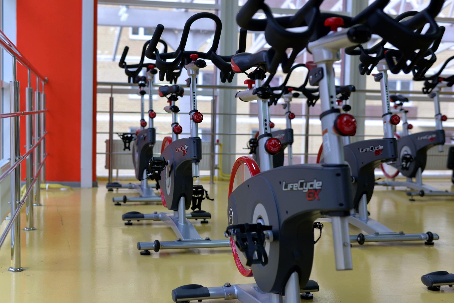 Photo showing exercise equipment