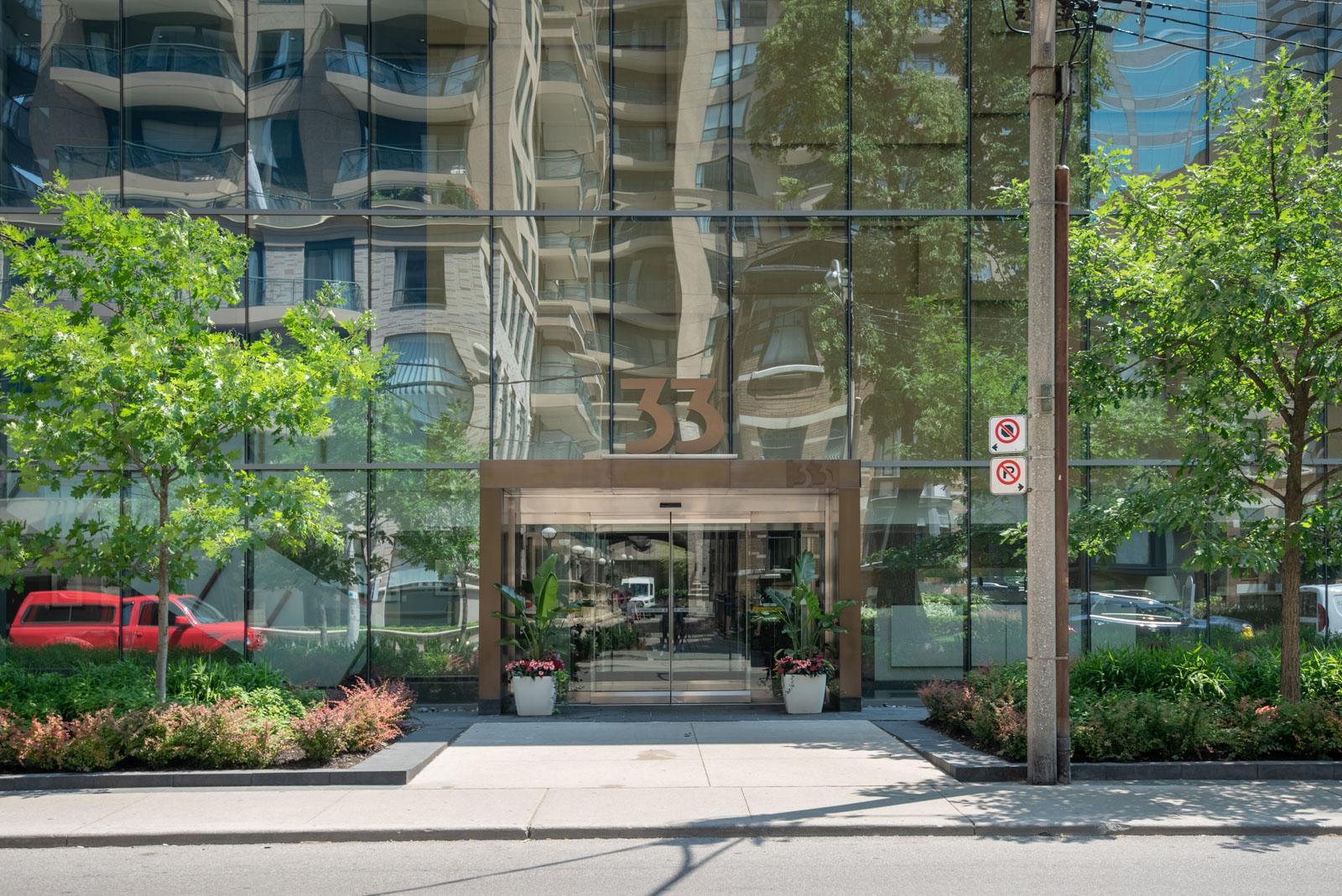 Casa Condos entrance