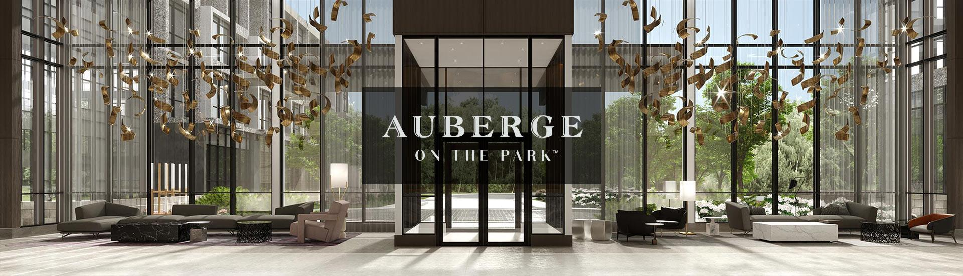Auberge On The Park - Interior Lobby Render