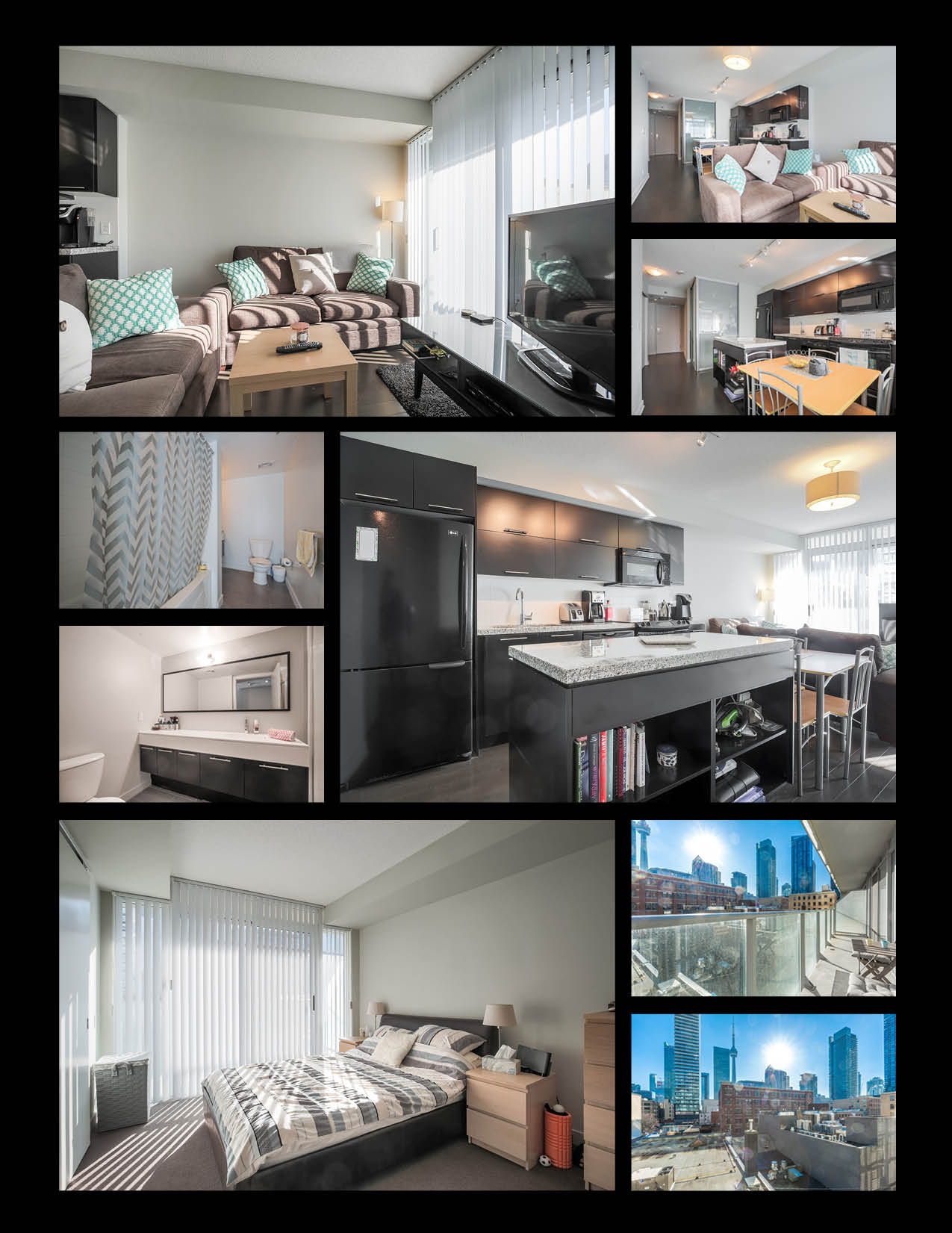Photo Compilation of 21 Nelson Street - Unit 402 in Toronto's Entertainment District and King Street West