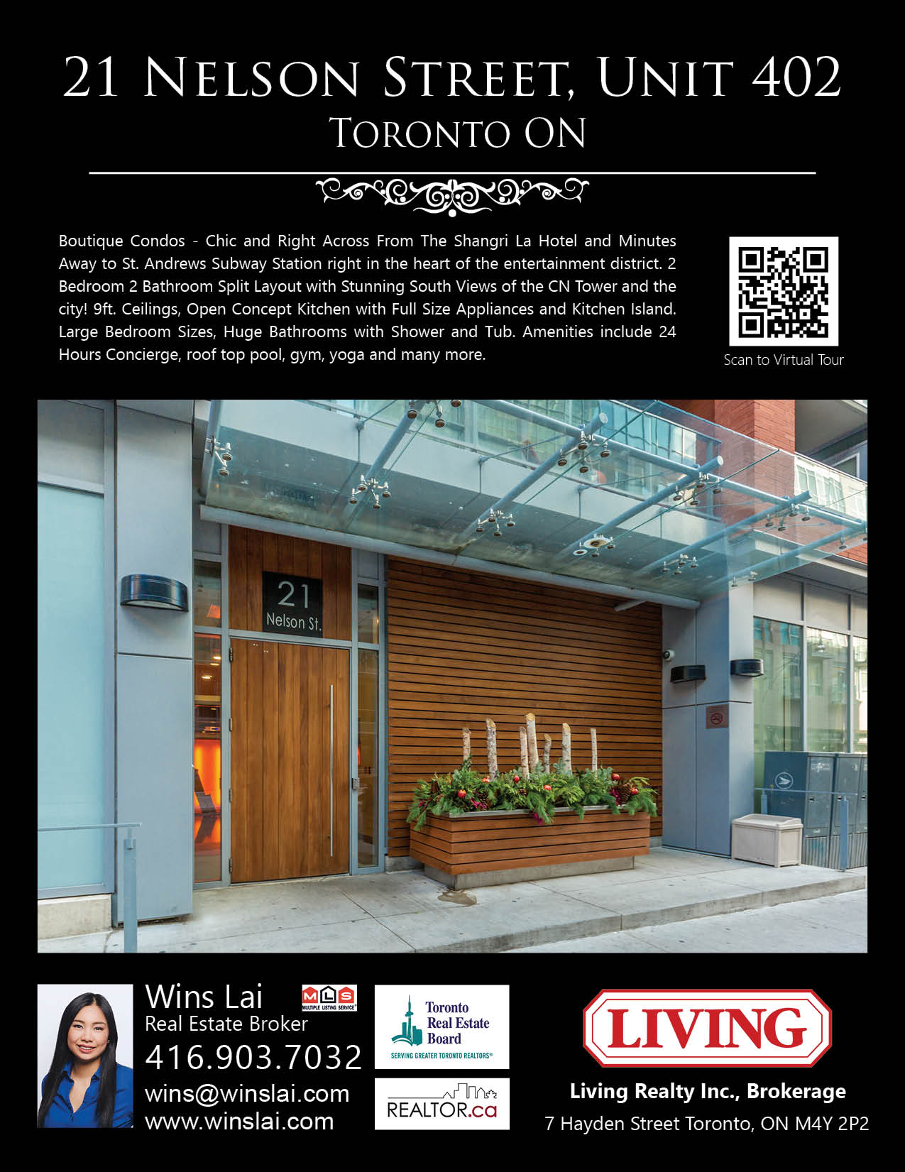 21 Nelson Street - Unit 402 - Quick Overview