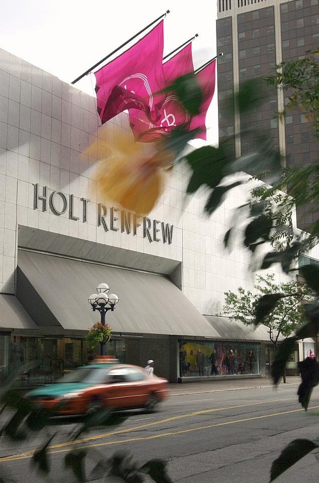 Photo showing outside of Holt Renfrew