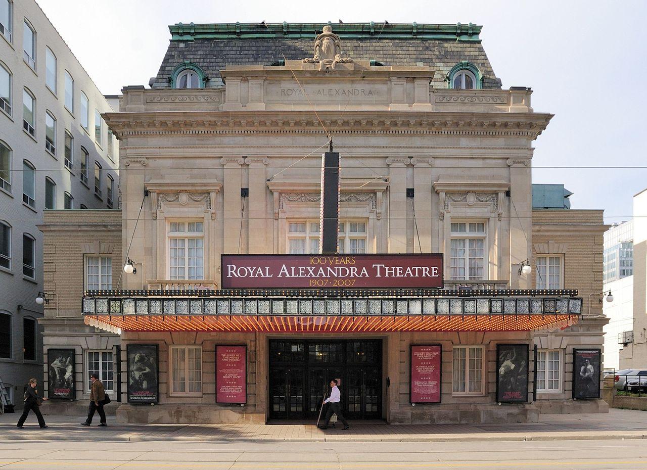 Exterior shot of Royal Alexandria Theatre