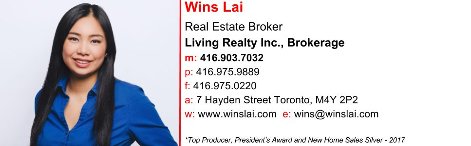 Wins Lai - Realtor - Toronto Real Estate Agent and Broker - Signature