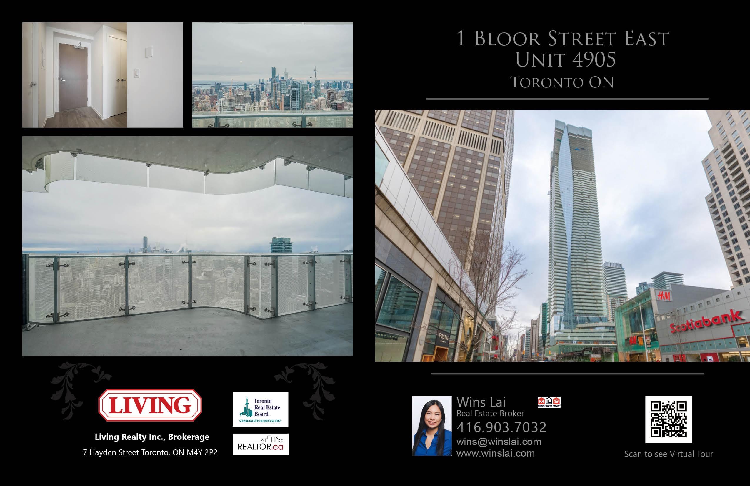 Overview of 1 Bloor Street East - Unit 4905