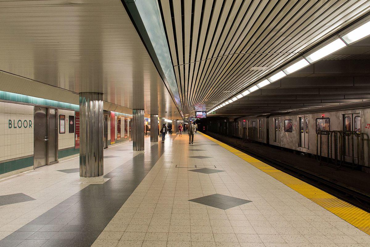 Photo of Yonge & Bloor subway