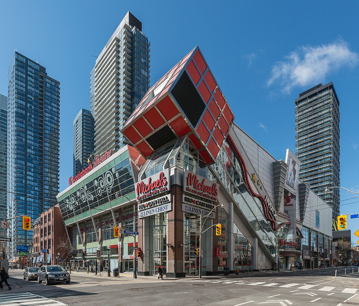 Image of Scotia Bank Theatre in Toronot's Entertainment District