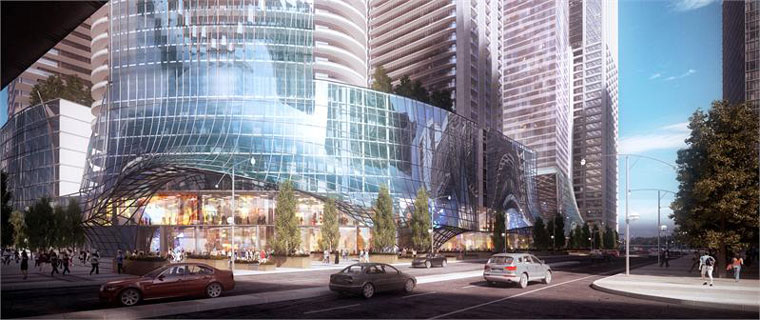 Picture of 1 Yonge Street's ground level and shopping