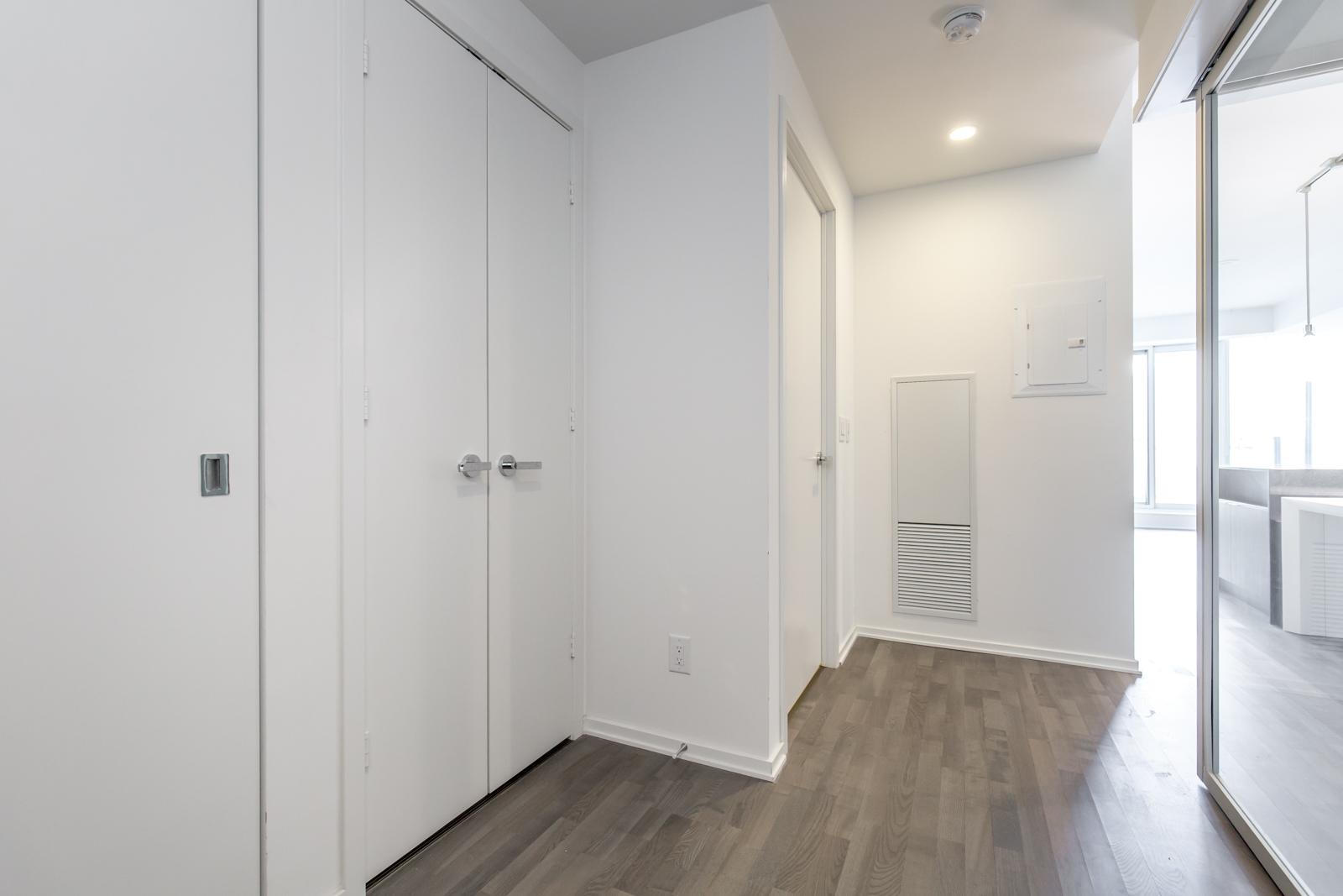 1 Bloor hallway