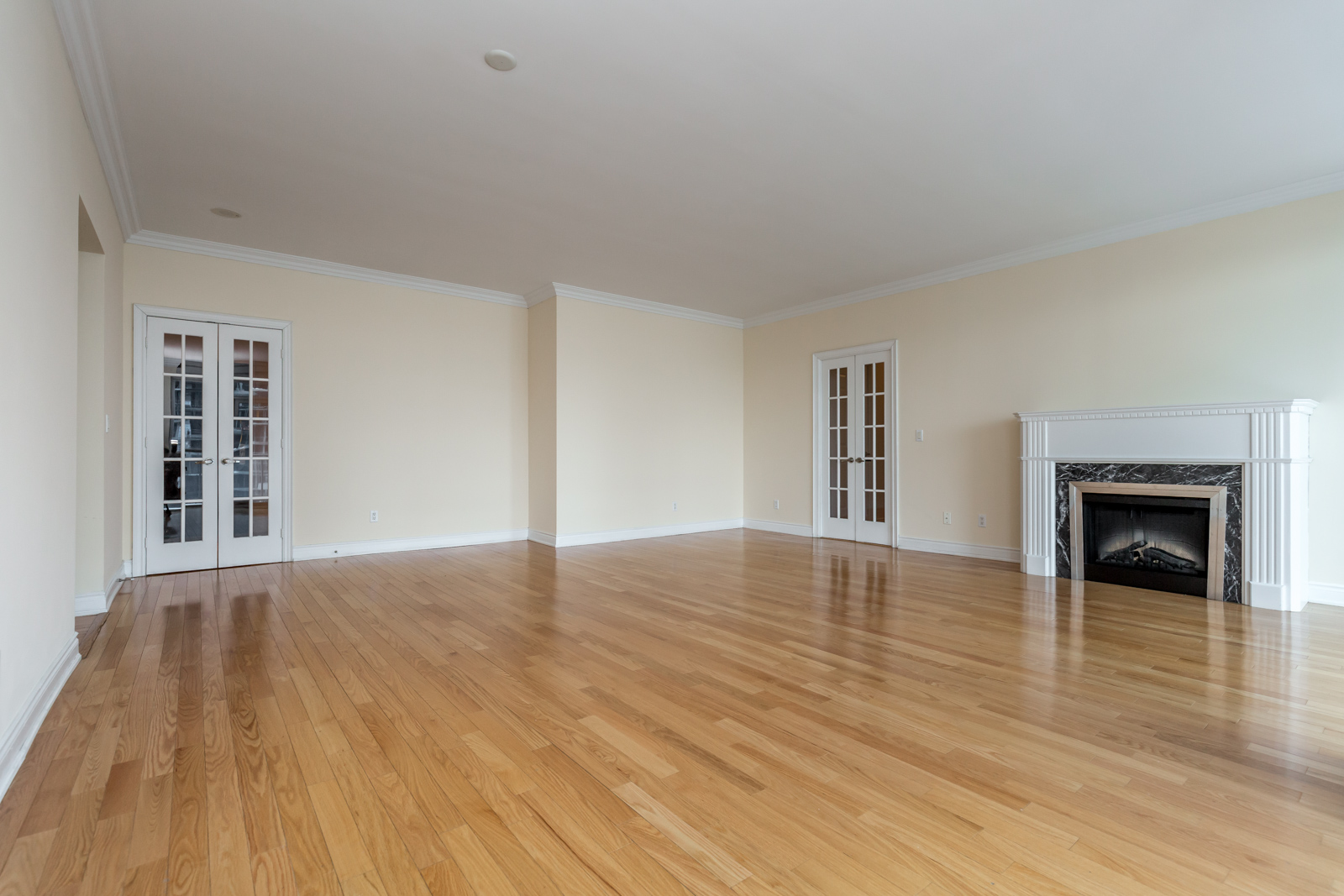 Another inside shot of 761 Bay Street showing off its fireplace
