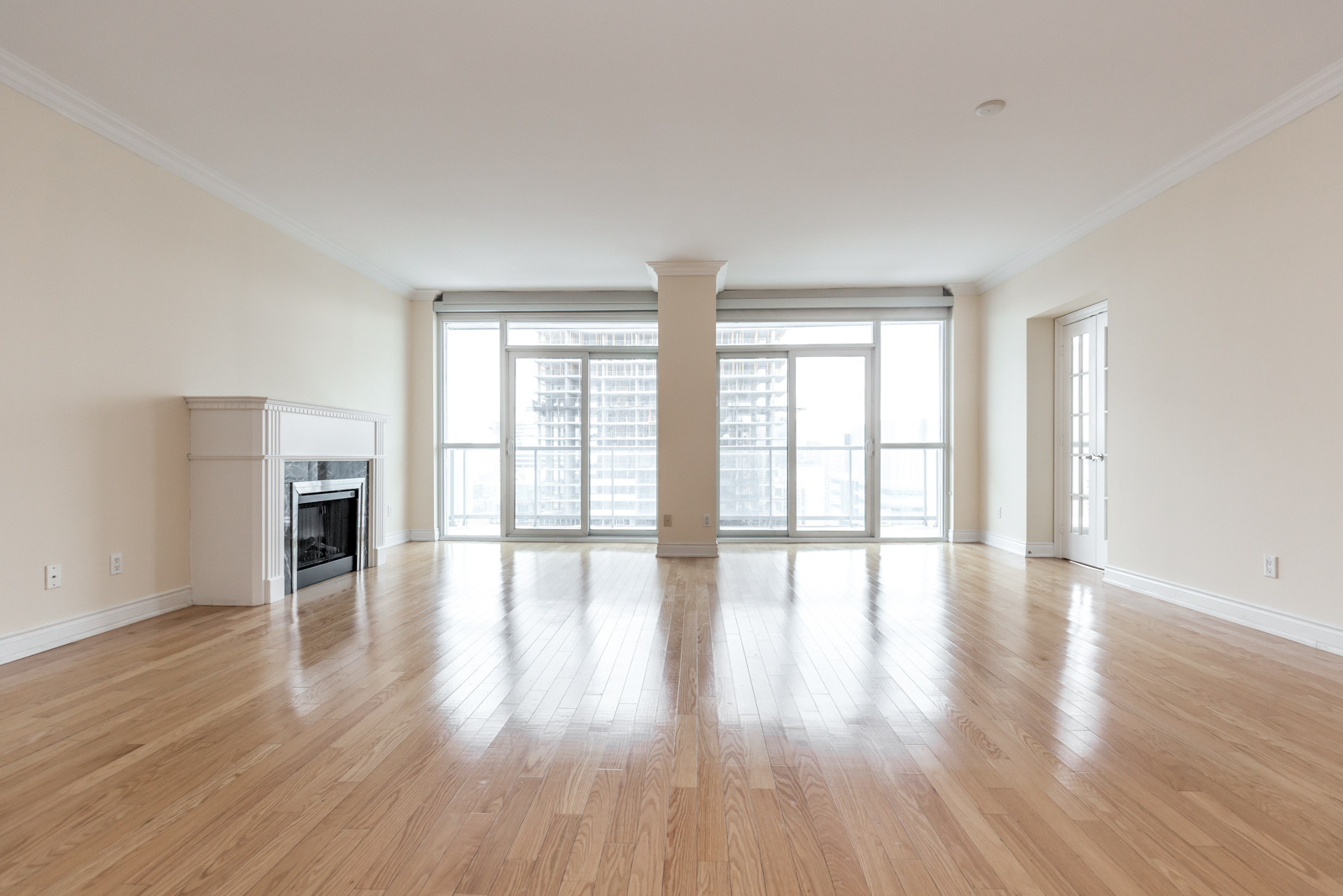 Photo of 761 Bay Street showing off its space and hardwood floors. And, first of all, also, another, furthermore, finally, in addition because, so, due to, while, since, and therefore good.