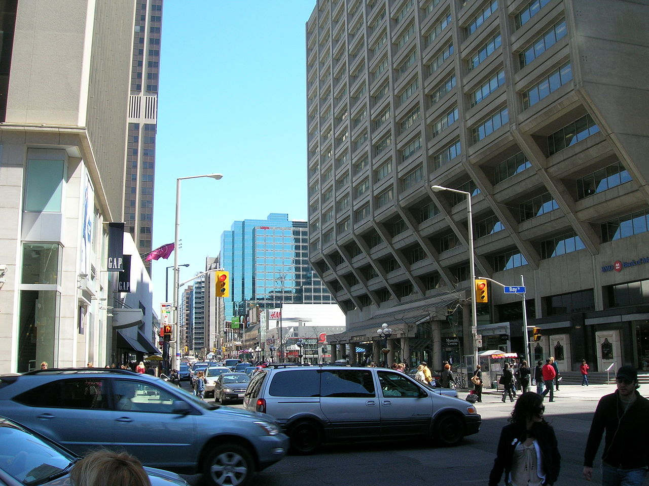 Photo of Manulife Centre's outside and streets