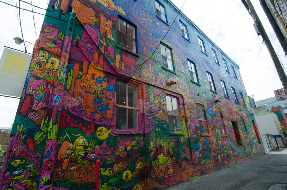Photo of Graffiti Alley in Toronto