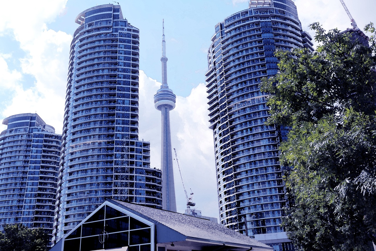 Photo of Toronto's Financial District