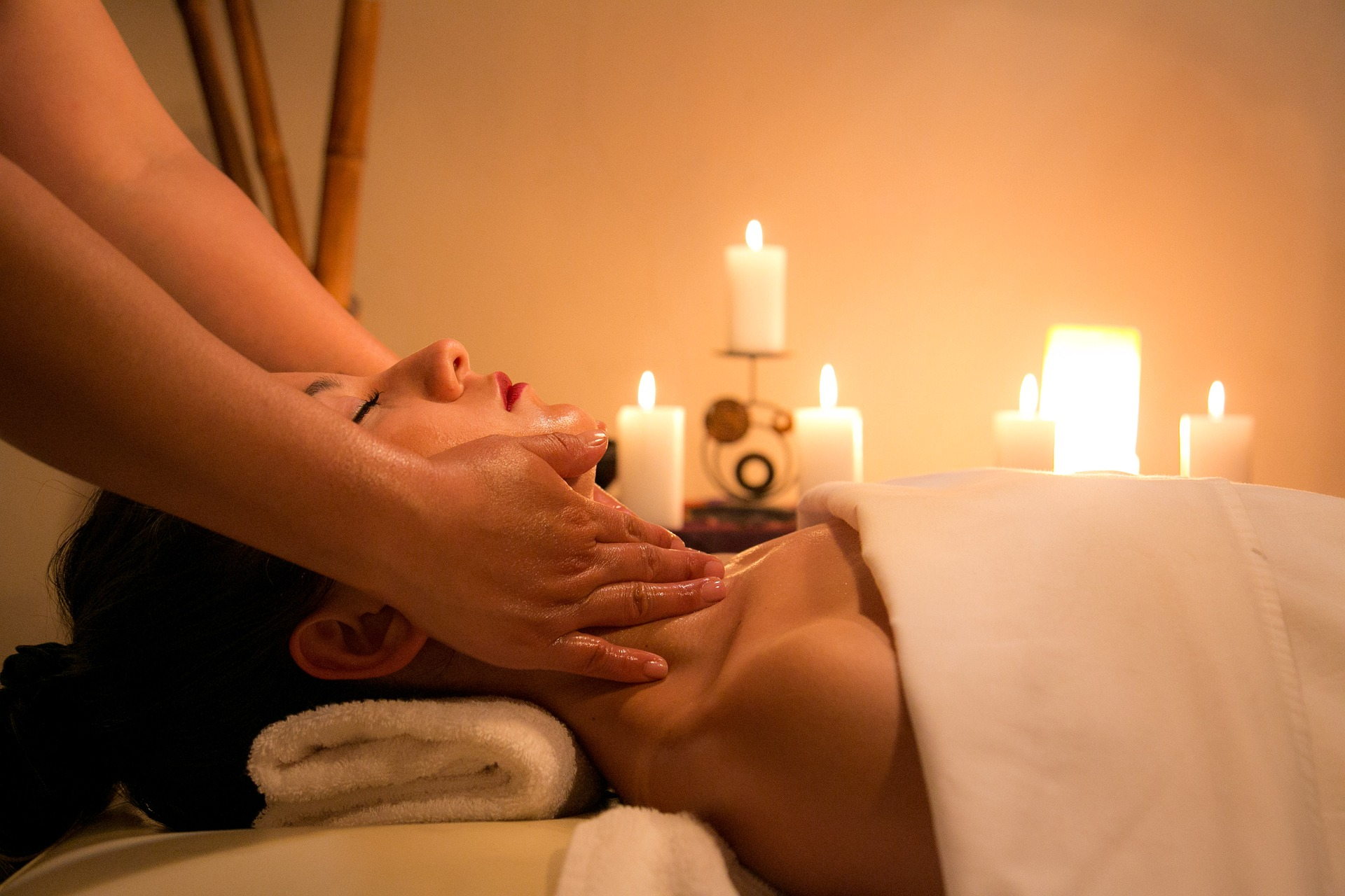 Photo of woman getting massage