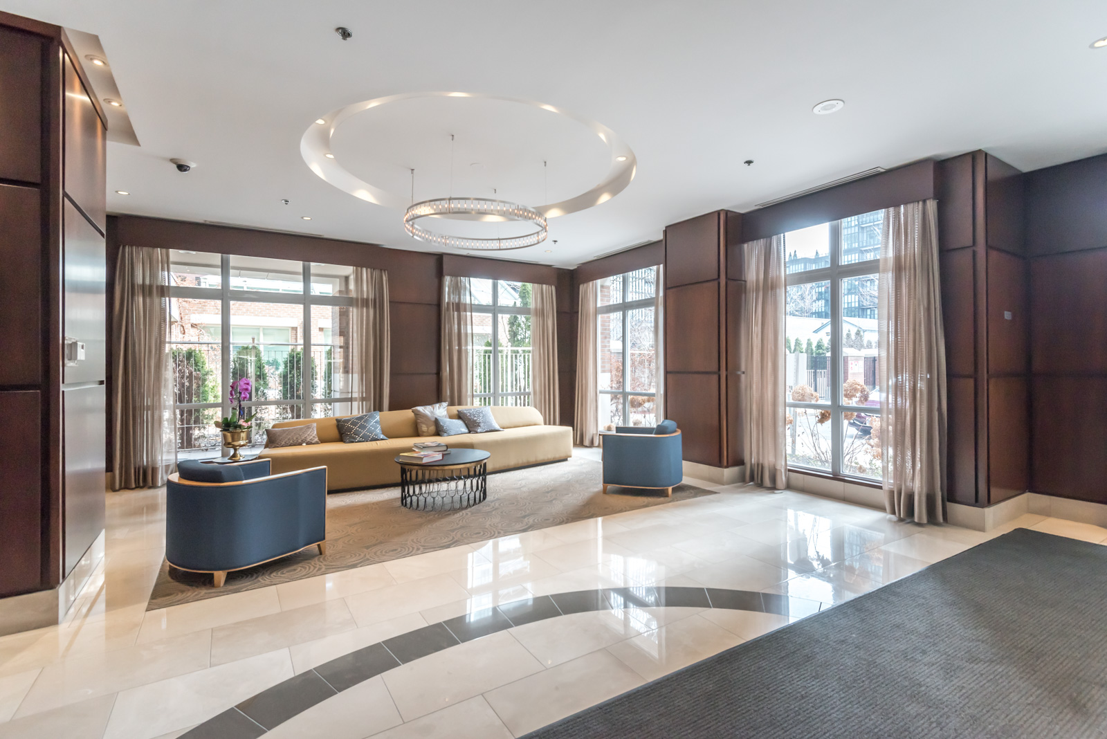 Photo of 100 Hayden Street lobby