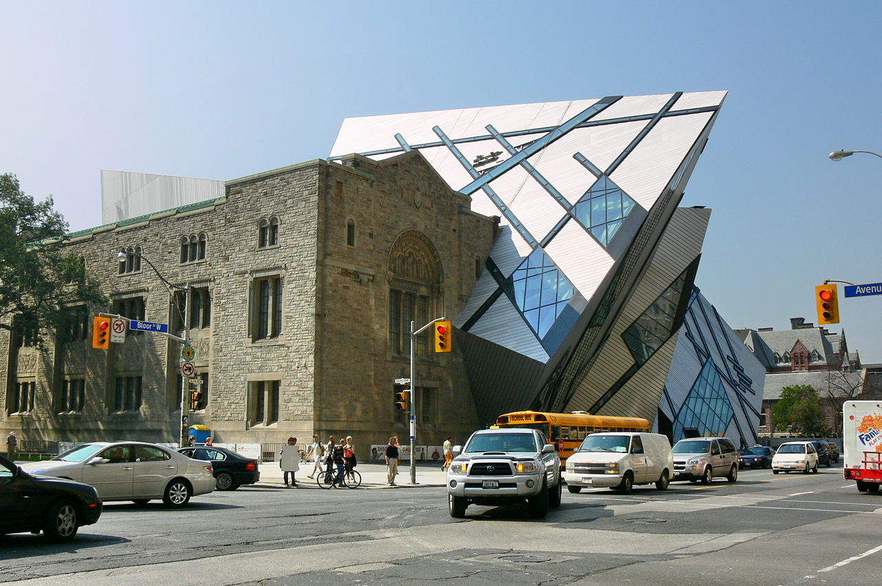 ROM at Yorkville streets.