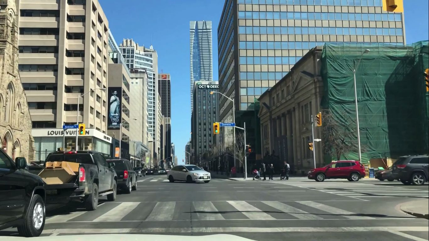 Photo of Bloor Street and Toronto