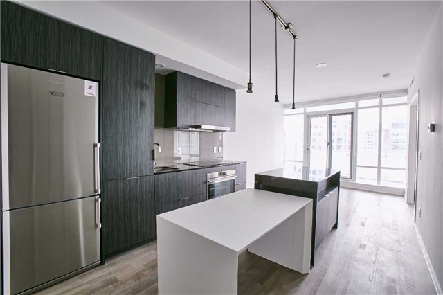Photo of 1 Bloor Unit 3109 kitchen, living room and dining room.