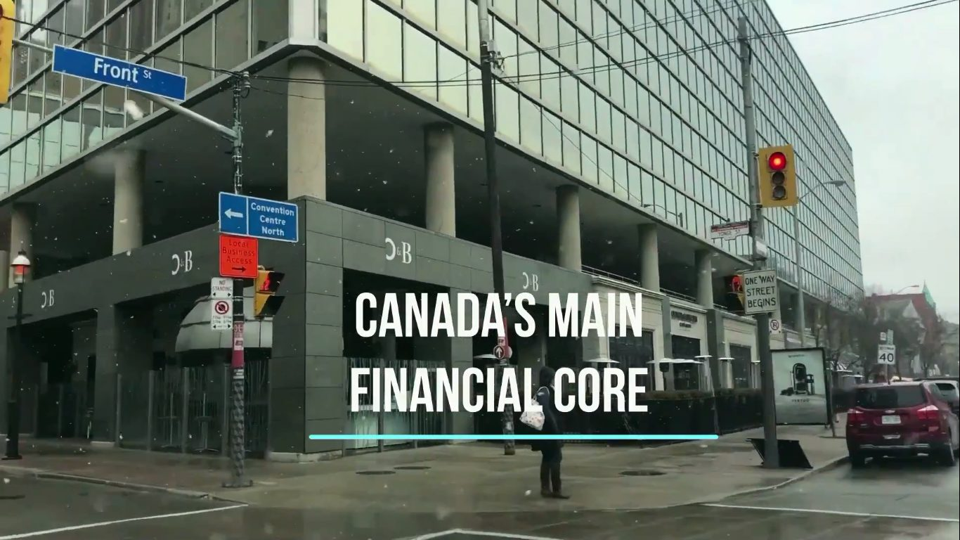 The Financial District is bordered by Queen St. West to the North, Yonge to the East. and, first of all, also, another, furthermore, finally, in addition because, so, due to, while, since, therefore.