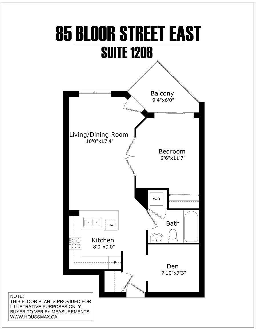 85 Bloor Floor Plans