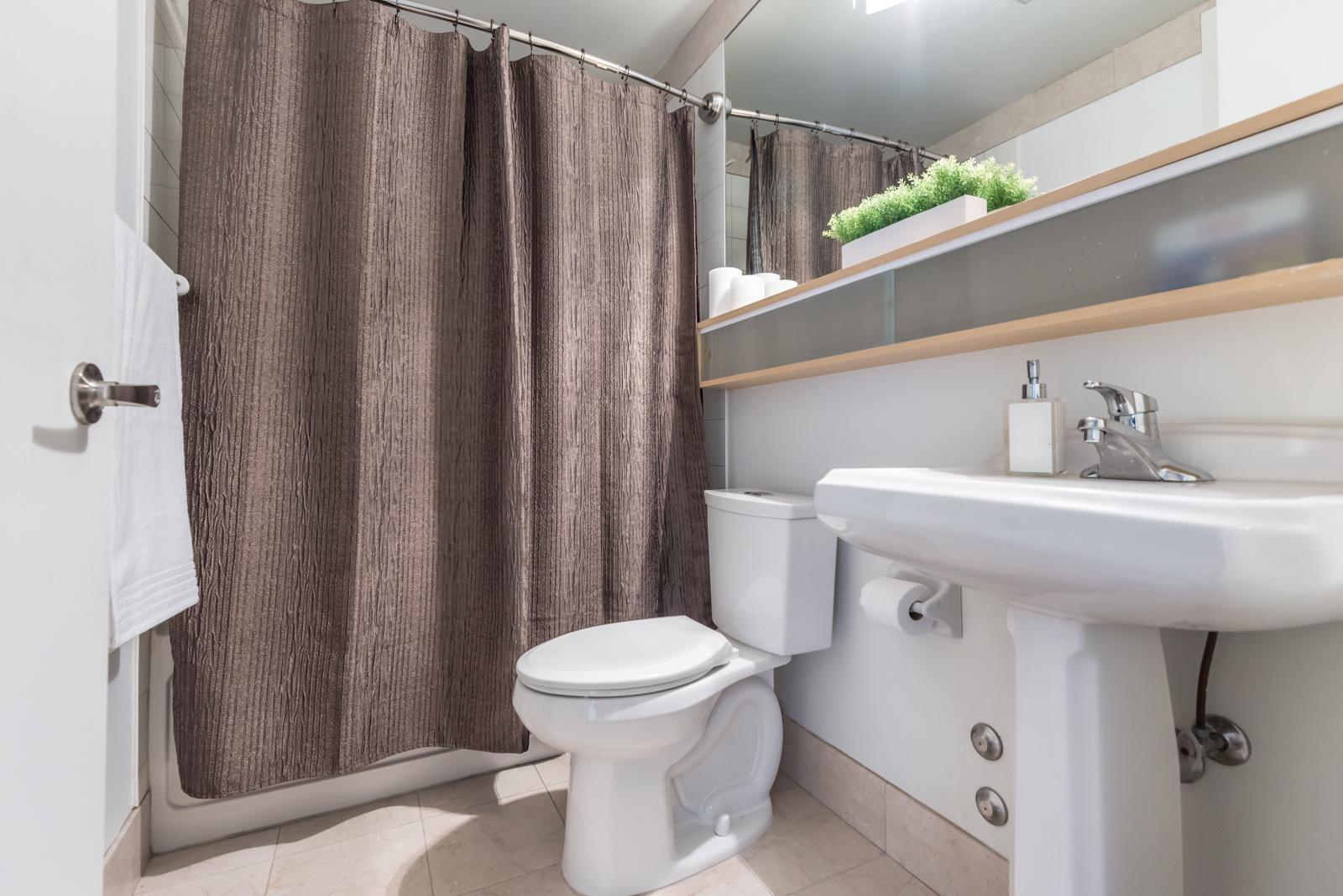 Photo of 85 Bloor Street bathroom.