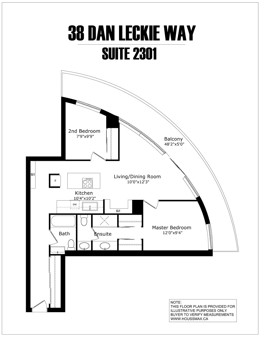 Condo floor plans and layout.