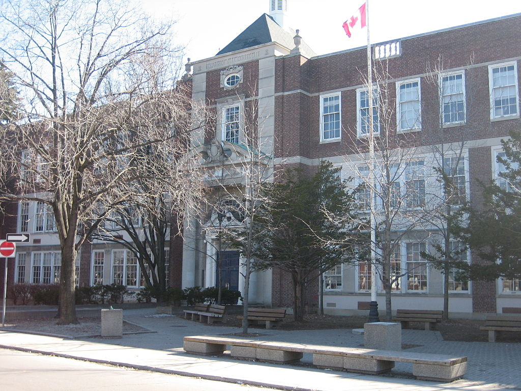 Image of Lawrence Park, a public school in Toronto.