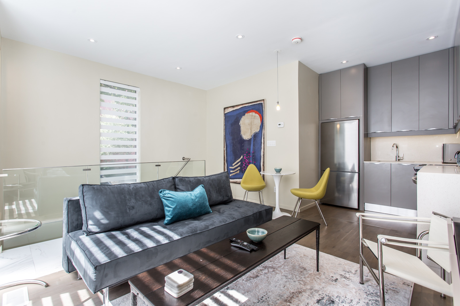 Photo of 115 Maitland Street interior and living room.