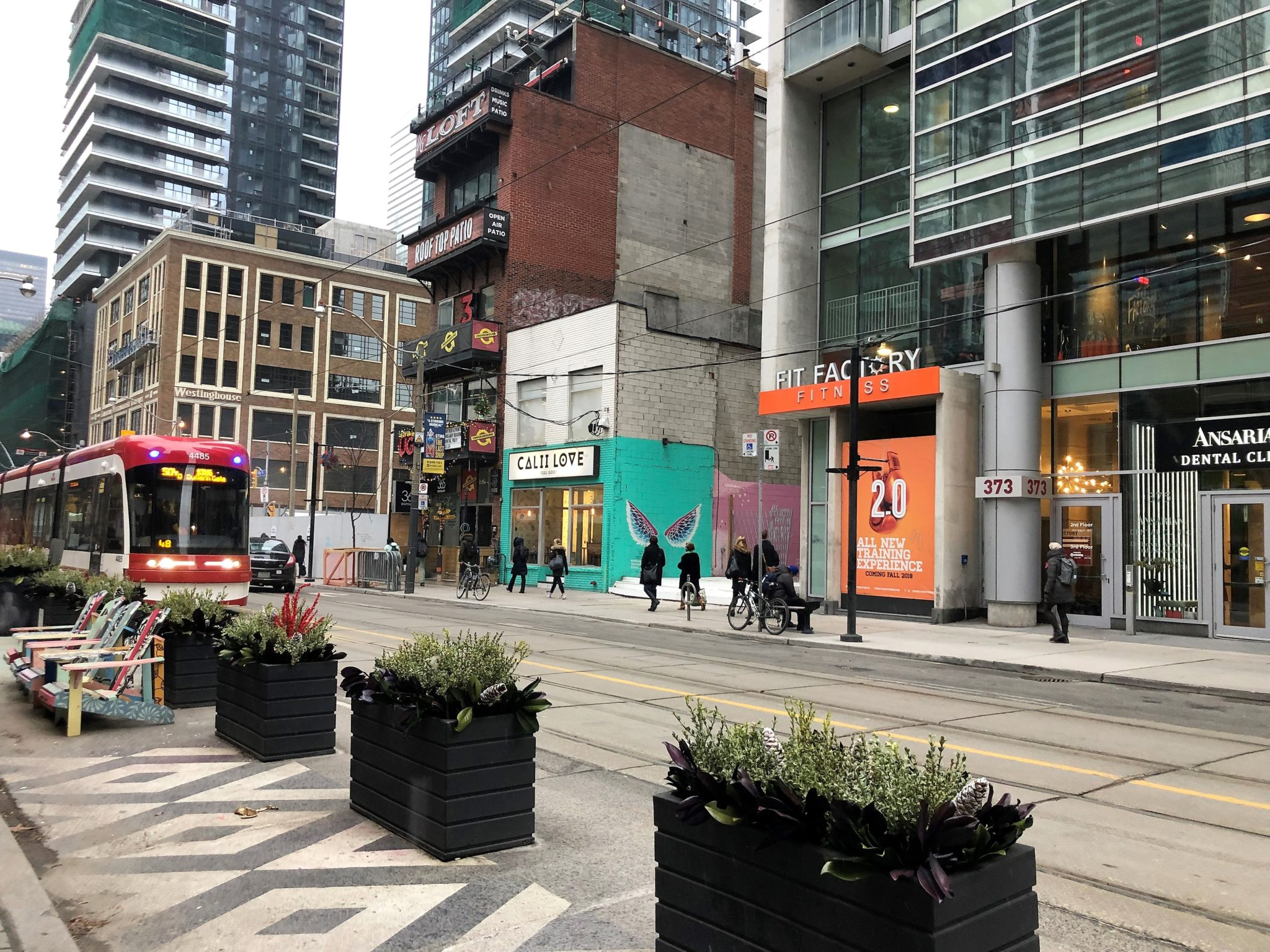 King West street view
