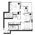 King Blue 1208 Floor Plan