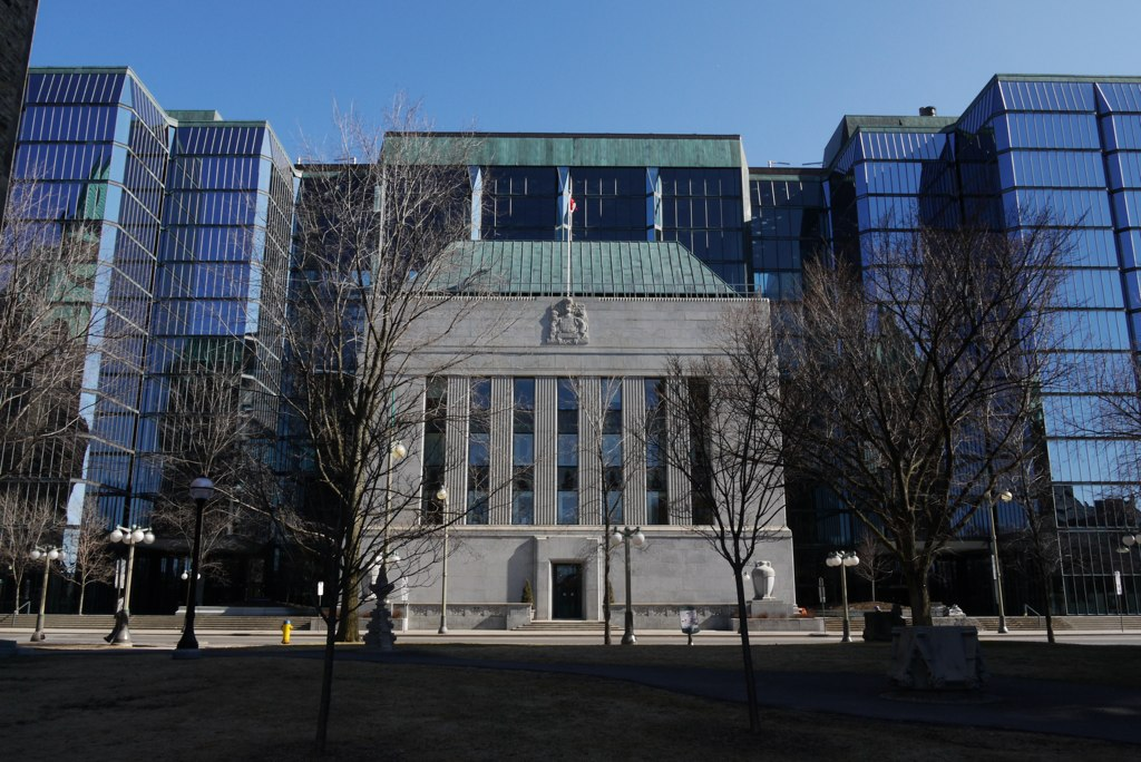 Bank of Canada HQ, where the benchmark interest rate is decided.