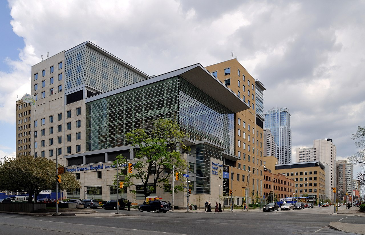 Toronto General Hospital in Financial District.