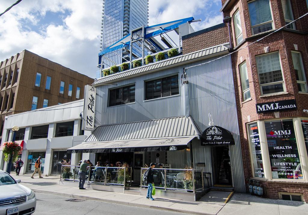 Pilot Bar in Yonge and Bloor, Toronto.