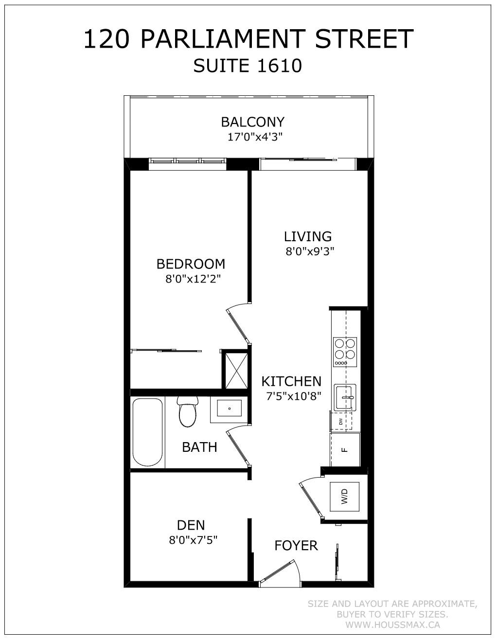 120 Parliament St Suite 1610 Floor Plans