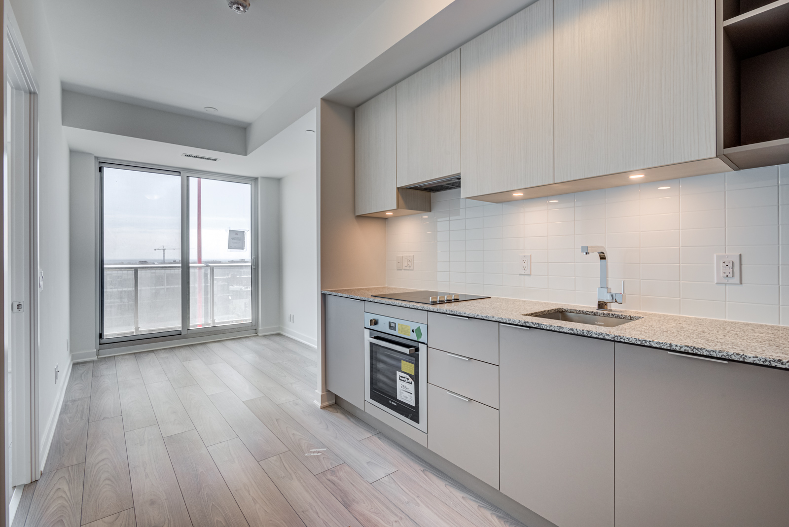 120 Parliament St #1610 linear kitchen
