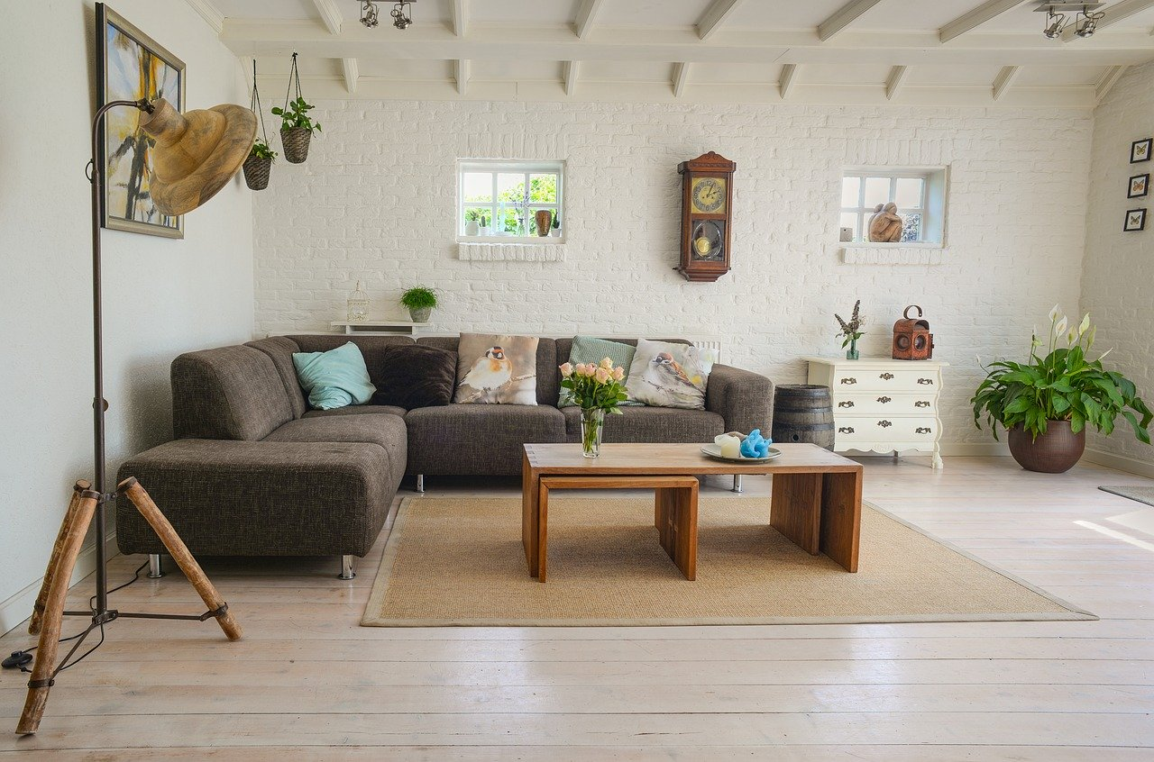 A photo of home staging services like those offered by Simply Home Downsizing.