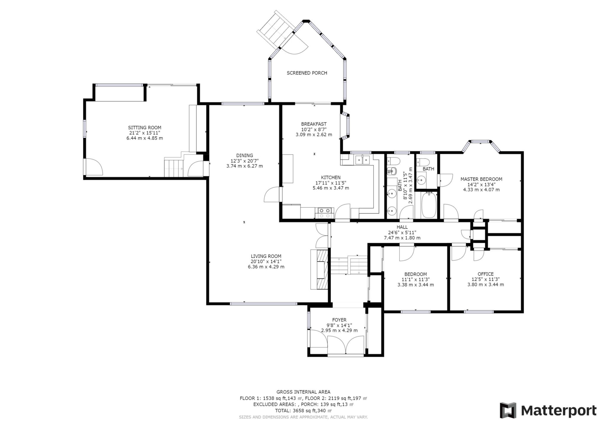 Floor plans for 6 Parmbelle Cres