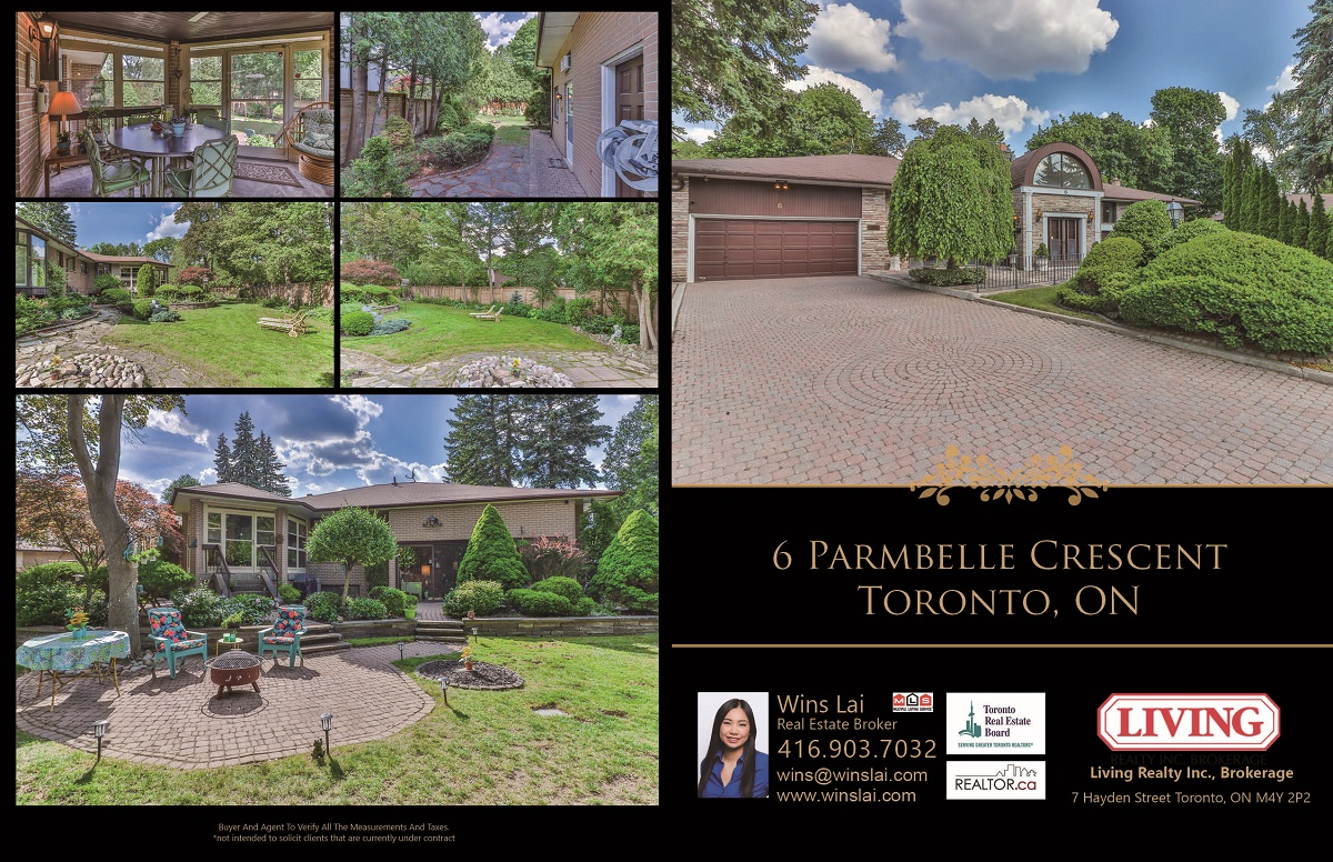 Collection of 6 Parmbelle Crescent exterior pics.