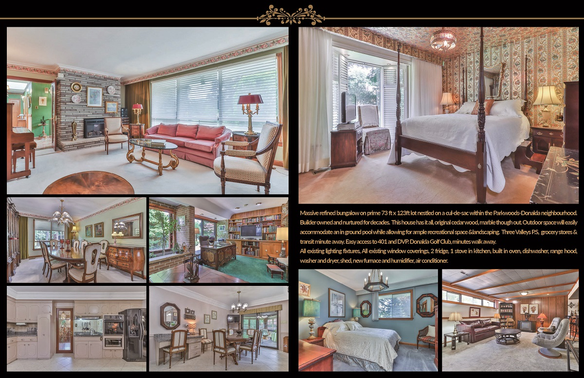 Collage of 6 Parmbelle Cres with various pics of interior.