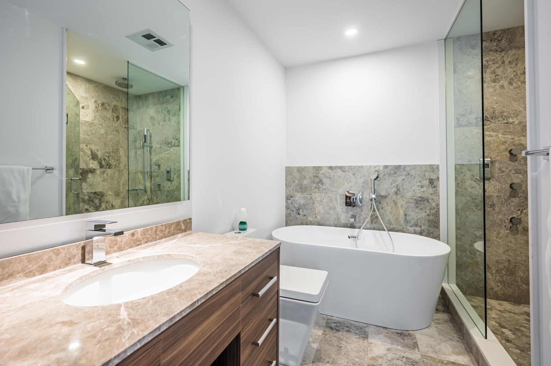 488 University Ave 4610 master bath with soaker tub.