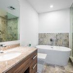 488 University Ave. Unit 4610 master bathroom