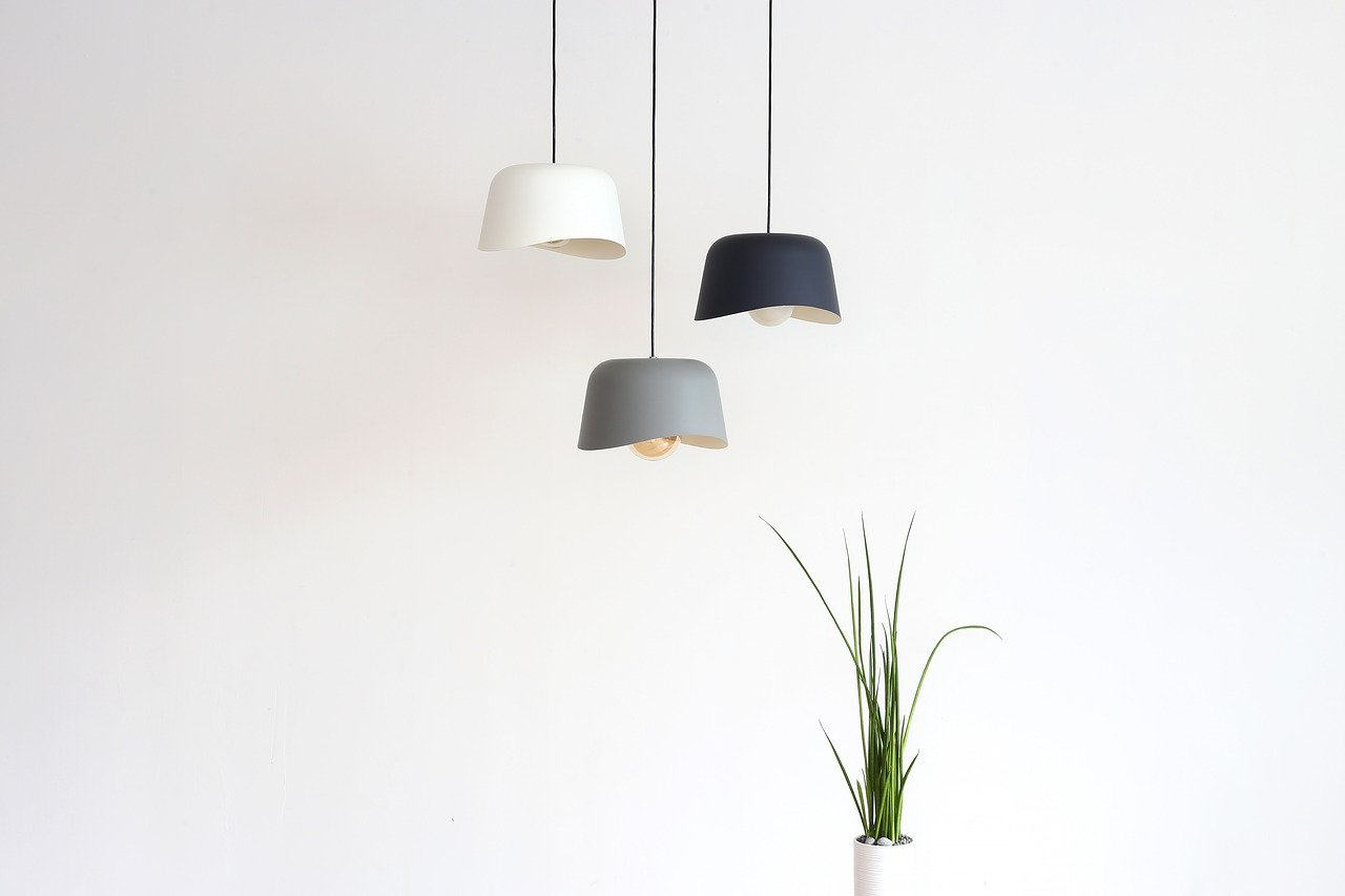 Creative light fixtures being used to increase property value on a home.