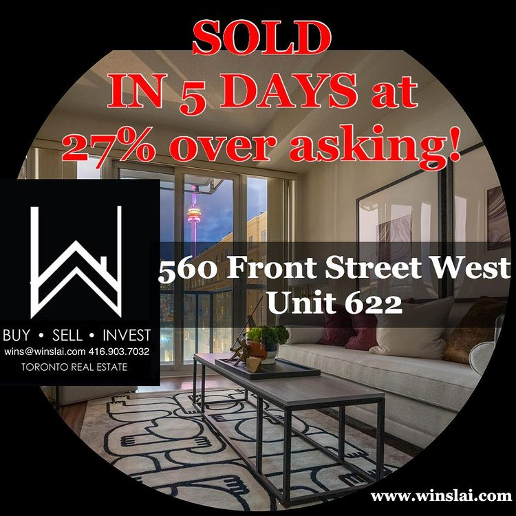 560 front st flyer saying sold in 5 days and 27% over asking.