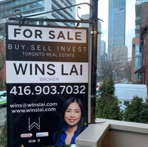 Wins Lai - For Sale Sign