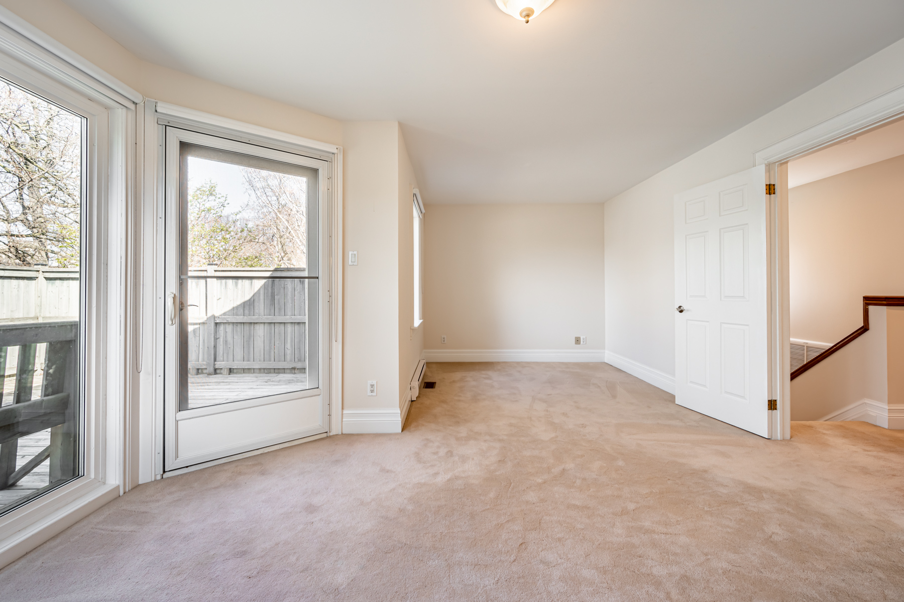 Spacious master bedroom of 98 Bedford Rd.