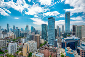 Skyline of downtown Toronto